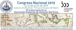La Asociación Española de Derecho Marítimo celebra su 70 aniversario en el Congreso Anual 2019
