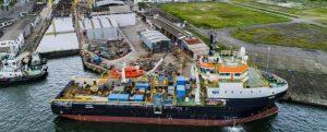 Damen transforma un buque offshore para Petrobras