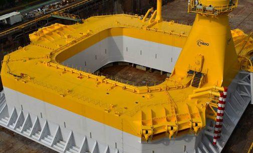 Vídeo de la instalación en Japón del aerogenerador eólico flotante Hibiki