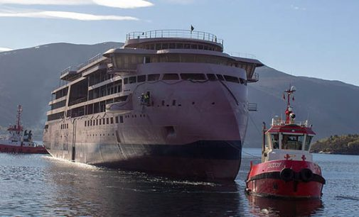 El buque National Geographic Endurance comienza la fase de armamento