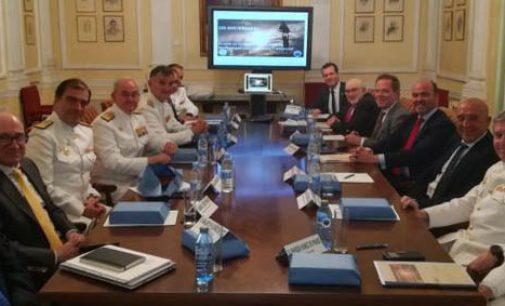Reunión de Alto Nivel para preparar el programa conmemorativo del 250 aniversario de la creación del Cuerpo de Ingenieros de la Armada y profesión de Ingeniero Naval y Oceánico