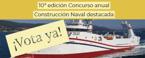 Últimos días para votar en el Concurso anual de construcciones navales
