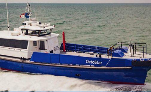 Octostar: nuevo buque de transporte de personal para Angola