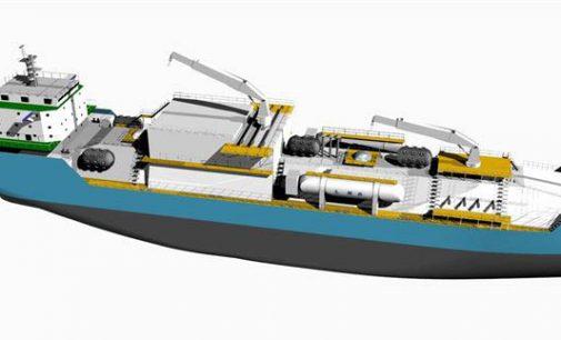 Primer buque de suministro de GNL de China
