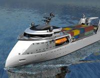 Ulstein presenta su nuevo diseño de un ro-pax compacto con X-Bow
