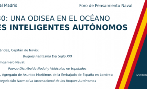 Jornada sobre Buques Inteligentes Autónomos como parte de la IX Semana Naval