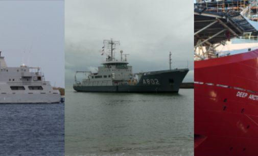 Últimos trabajos y contratos de Damen Shipyards
