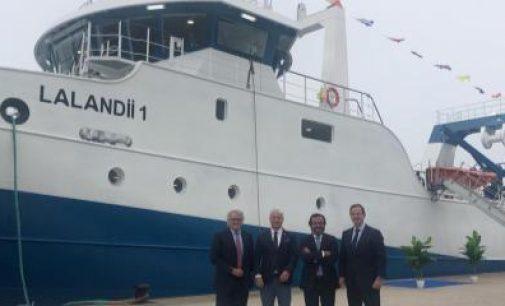 Astilleros Armon entrega a Nueva Pescanova el Lalandii 1