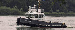 Baleària estrena nuevo remolcador