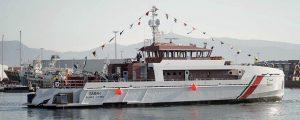 Freire bota el patrullero Sabah para Kuwait