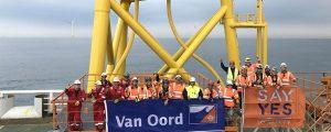 Finalizan los trabajos de cimentación del parque eólico offshore East Anglia One