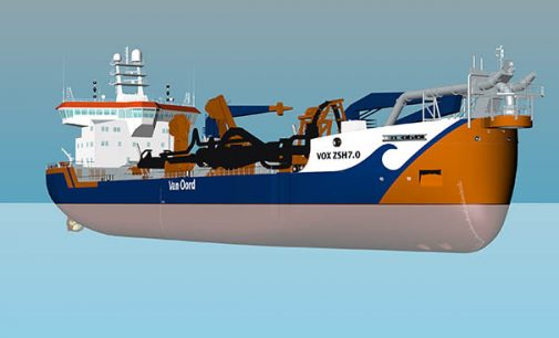 Tercera nueva draga a GNL para Van Oord