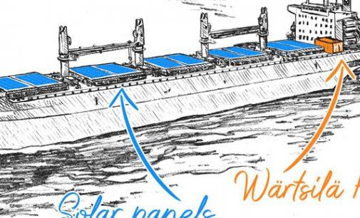 Wärtsilä presenta una nueva solución de propulsión híbrida para graneleros