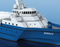 Zero-V: el buque de investigación costera a hidrógeno para EE. UU.