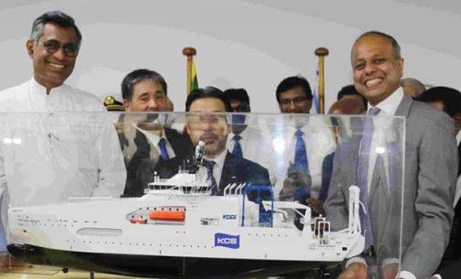 Sri Lanka entrega el KDDI Cable Infinity a la japonesa Kokusai Cable Ship