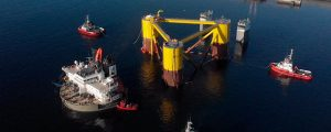 Comienza el ensamblaje de las turbinas del proyecto Windfloat Atlantic