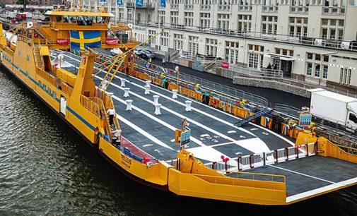 Suecia estrena su mayor ferry eléctrico híbrido