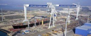 Navantia inicia los trabajos de construcción de las 20 upper jackets para el Mar del Norte