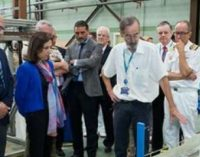 La ministra de Defensa visita el Centro de Experiencias Hidrodinámicas de El Pardo