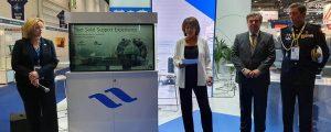 Navantia presenta con su socio BMT su propuesta de buque logístico para el Reino Unido