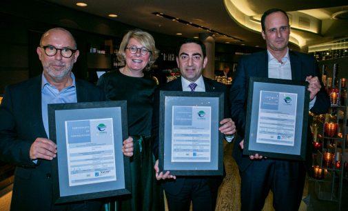 """Vigo y Barcelona renuevan el título de """"Ecopuertos"""" concedido por la ESPO"""