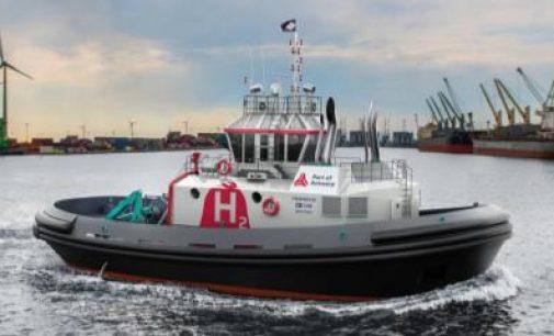 Hydrotug, la primera alternativa hacia un puerto libre de CO2