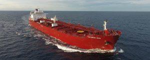 Entregado el primero de los cuatro buques propulsados a metanol de Waterfront Shipping Co.