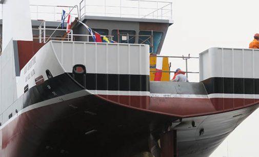 Armón bota el BIP Mar Argentino