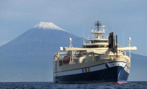 Llega a Tokio el buque de prospección geofísica de la empresa nipona NYK