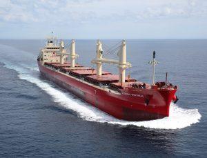 Se entrega el granelero Federal Montreal construído por Oshima Shipbuilding