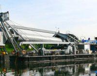 Puesta de quilla del nuevo buque de operaciones submarinas portuarias
