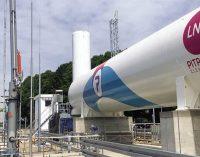 Abren en Colonia una estación en tierra de suministro de GNL a buques fluviales