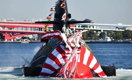 Botadura del último submarino japonés de la clase Soryu