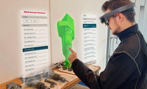MAN CEON TechGuide presenta la primera plataforma de mantenimiento de realidad aumentada