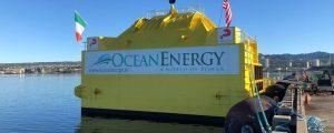 El dispositivo undimotriz OE Buoy llega a Hawaii para las pruebas a escala real