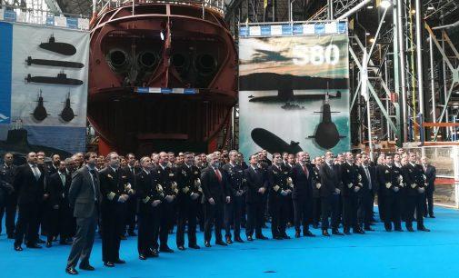 Navantia celebra el acto de cierre del casco resistente del submarino S-81 Isaac Peral