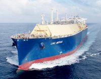 MOL Y COSCO celebran el nombramiento de su nuevo gasero, el LNG Merak