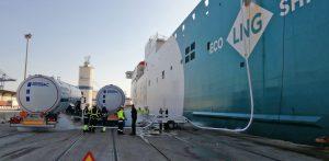 Baleària pionera en el bunkering de gas natural con un sistema de alta eficiencia