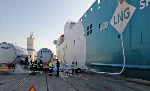 España se sitúa en 2019 como un referente en suministro de GNL como combustible a buques