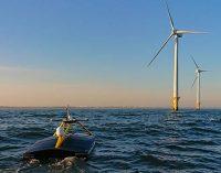 El USV XO-450 realiza un estudio del lecho marino en el parque eólico Greater Gabbard