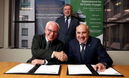 Armón se hace con el proyecto de un nuevo buque de investigación para Irlanda
