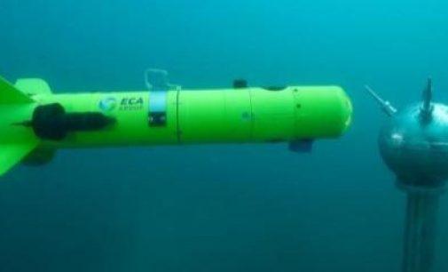 Drones cazaminas para las armadas de Holanda y Bélgica