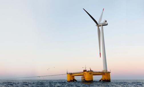 Total entra en el sector de la eólica marina flotante