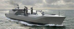 Damen se hará cargo de la construcción del nuevo buque de apoyo de combate de la RNLN