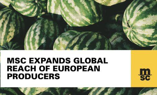 MSC expande el alcance mundial de los productores europeos