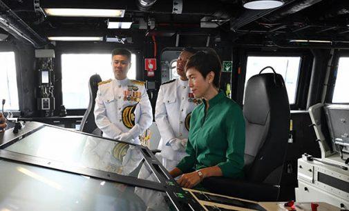 Los tres nuevos buques litorales de la Armada de Singapur