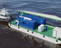 Damen aporta una solución innovadora a la gestión de aguas de lastre en vías fluviales