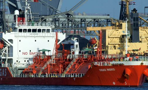 ¿Cuántos puertos suministran GNL como combustible a buques?