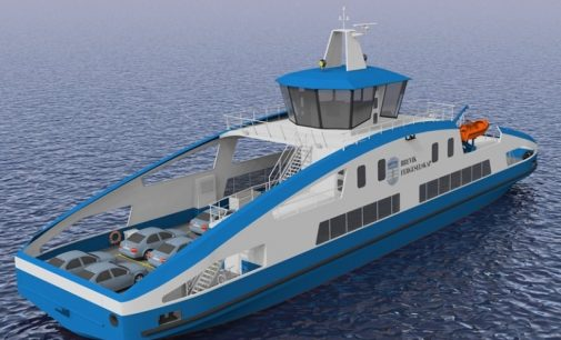 Ceremonia de puesta de quilla del nuevo ferry eléctrico de Holland Shipyards