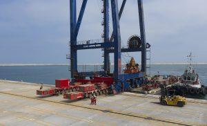 Veracruz disfruta ya de una nueva terminal para portacontenedores